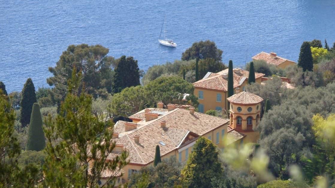 Drugi najdroższy dom świata stoi w Villefranche-sur-Mer na Lazurowym Wybrzeżu