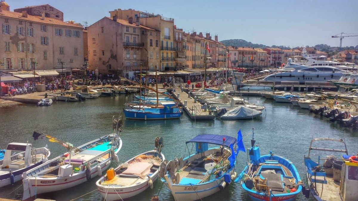 Port w Saint-Tropez