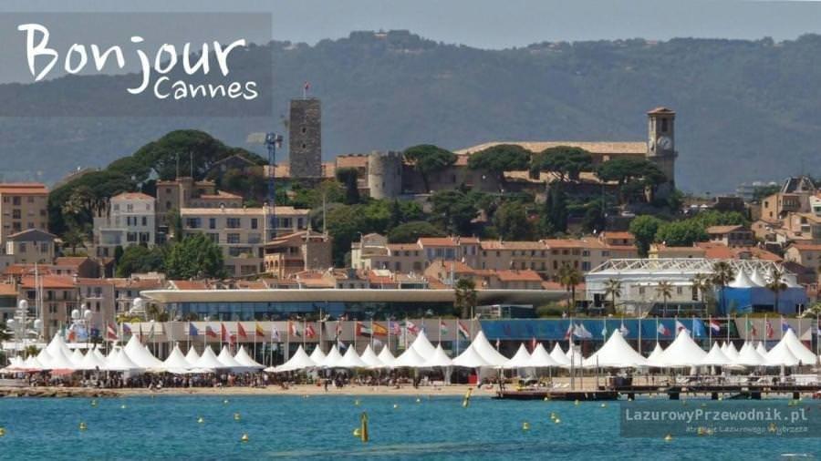 Panorama Cannes podczas festiwalu filmowego