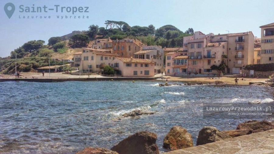 Saint-Tropez, tuż za starym portem