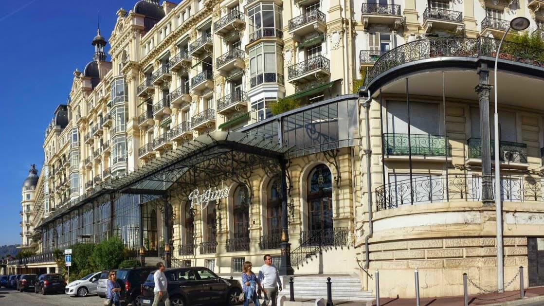 Hotel Excelsior Regina, w którym mieszkała królowa Wiktoria (Cimiez, Nicea)