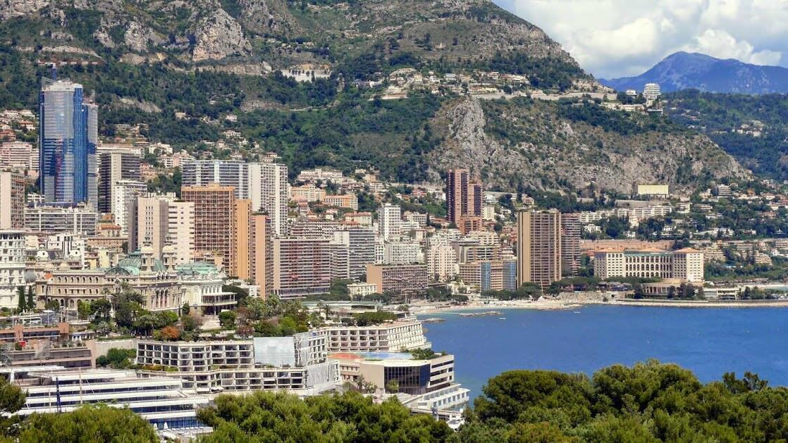 Panorama Monako Monte Carlo
