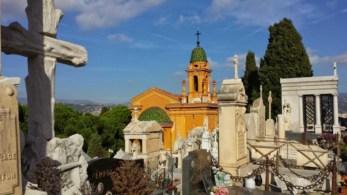 Cmentarz katolicki w Nicei na Wzgórzu Zamkowym