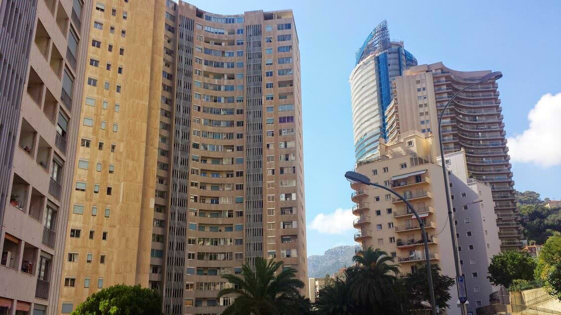 Blokowiska w Monaco Monte Carlo