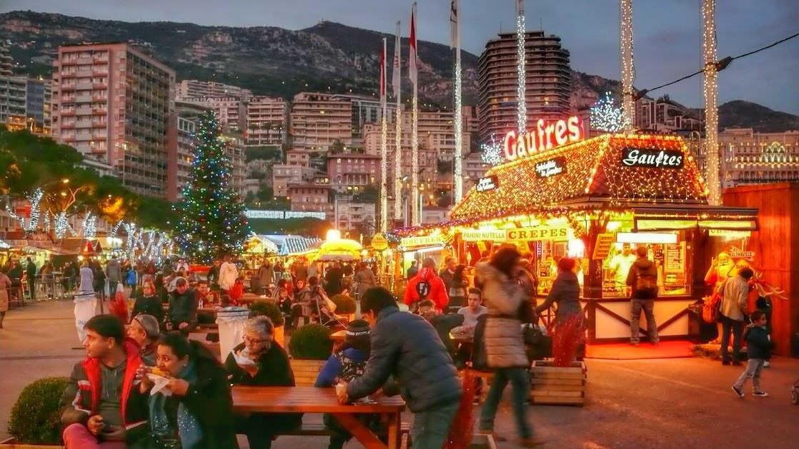 Jarmark bożonarodzeniowy w Monaco