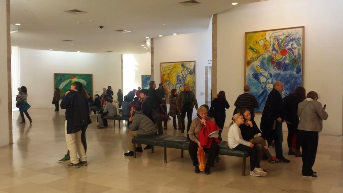 Ekspozycja Biblical Message w muzeum Marca Chagalla w Nicei