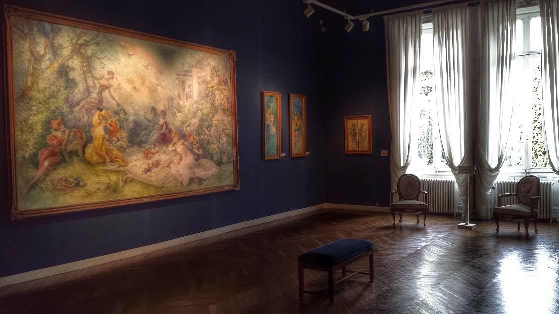 Sala z dziełami Julesa Chéreta, którego imię nosi muzeum