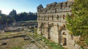 Muzeum archeologiczne w Nicei, ruiny frigidarium
