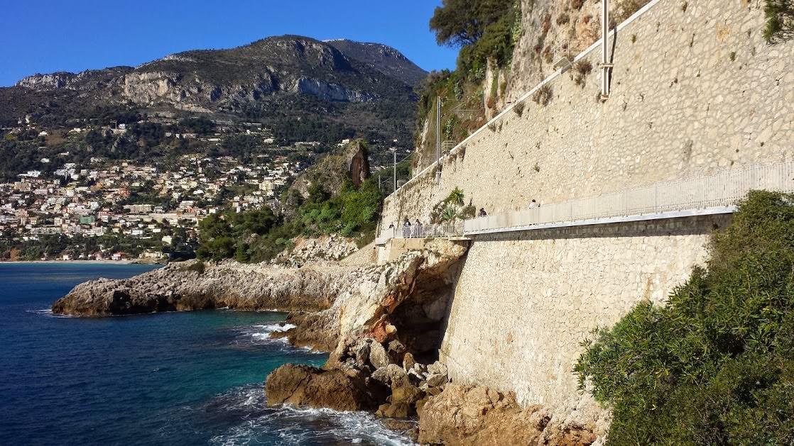 Ścieżka dookoła półwyspu Cap Martin
