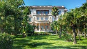 Villa Massena, w której mieści się Muzeum Massena, Nicea