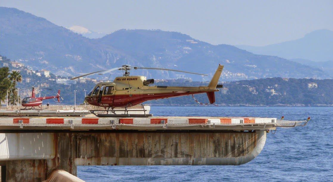 Lądowisko dla helikopterów w Fontvieille