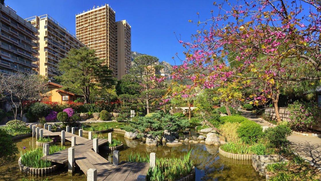 Ogród Japoński w Monte Carlo