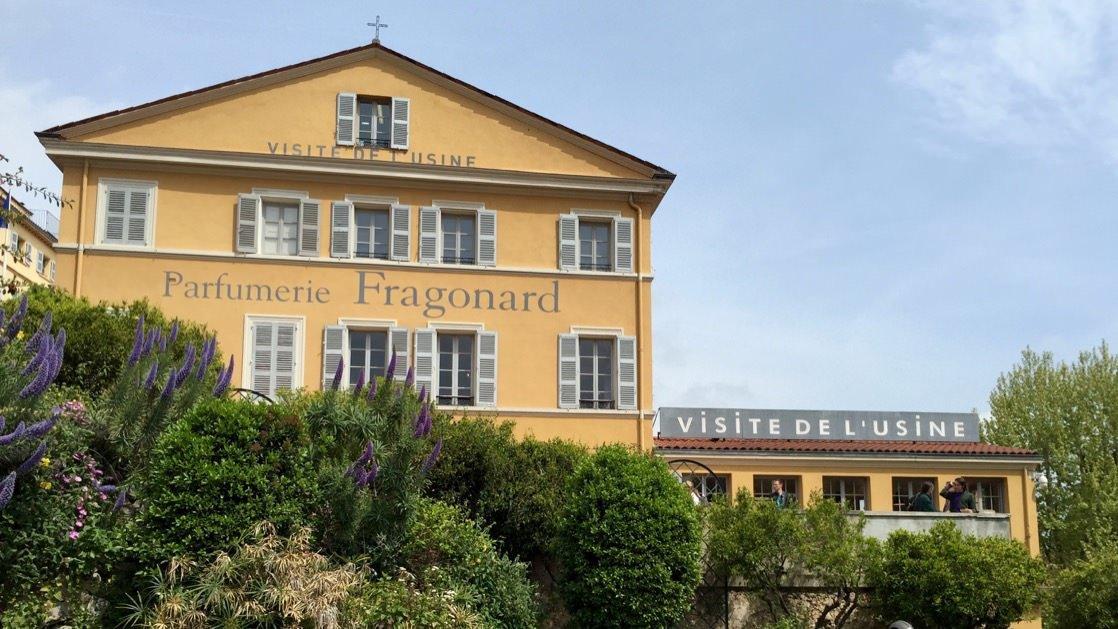 Budynek perfumerii Fragonard w Grasse
