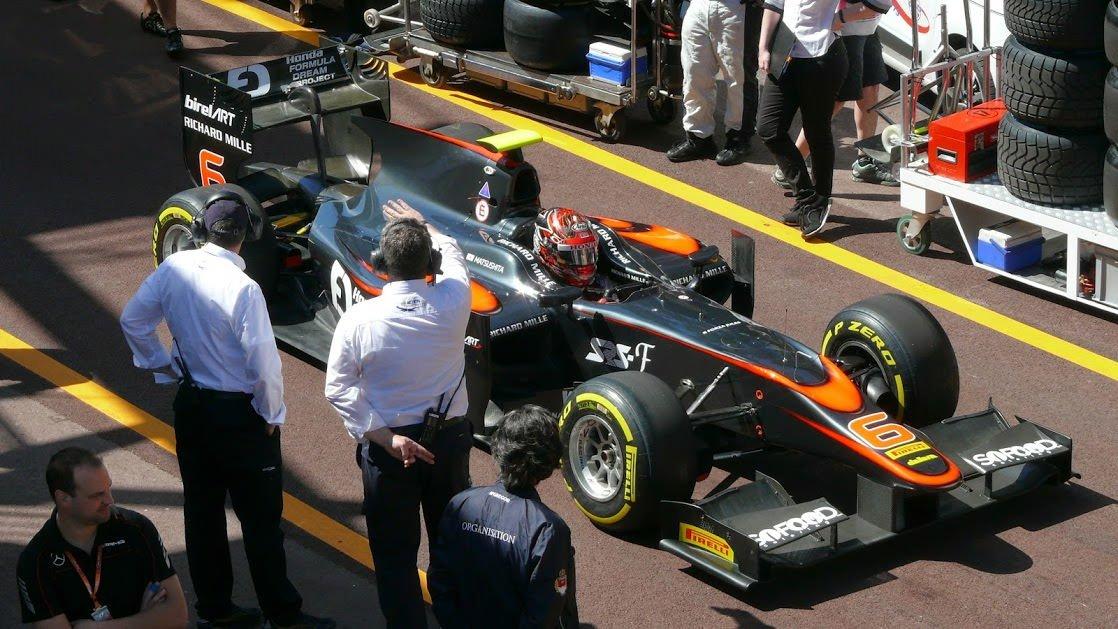 Przygotowania przed starem, F1 w Monaco Monte Carlo
