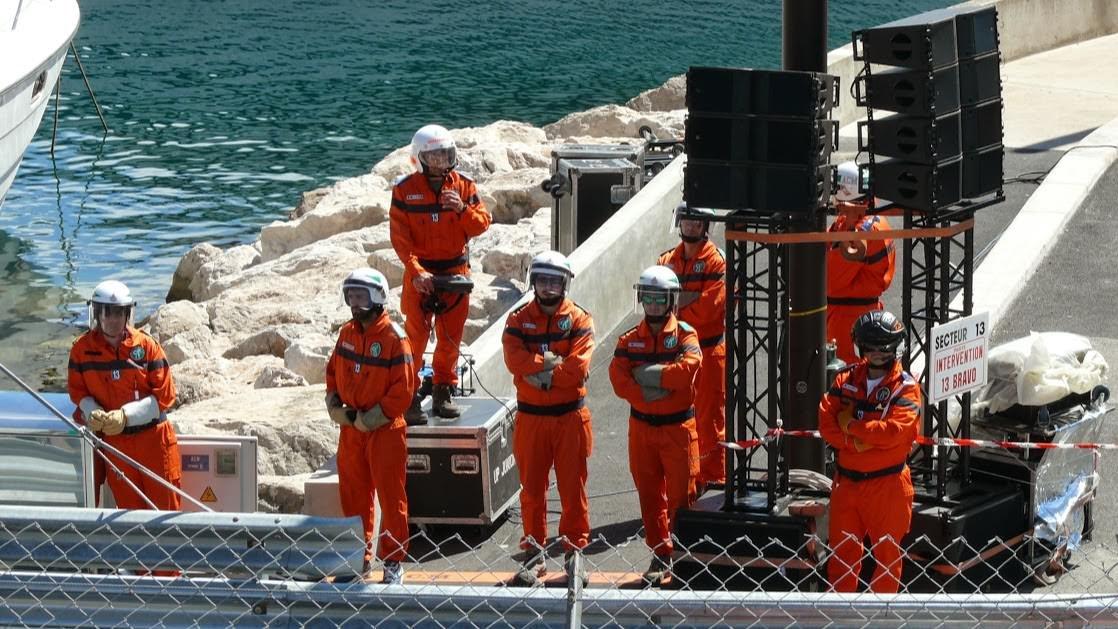 Pracownicy obsługi, Formuła 1, Monako Monte Carlo