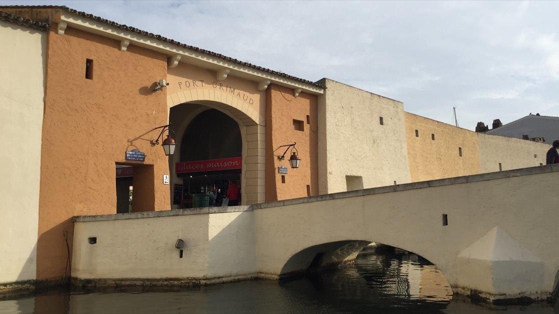 Główne wejście do Portu Grimaud