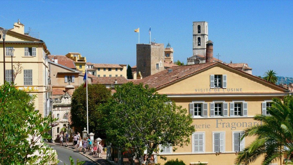 Widok na Stare Miasto w Grasse
