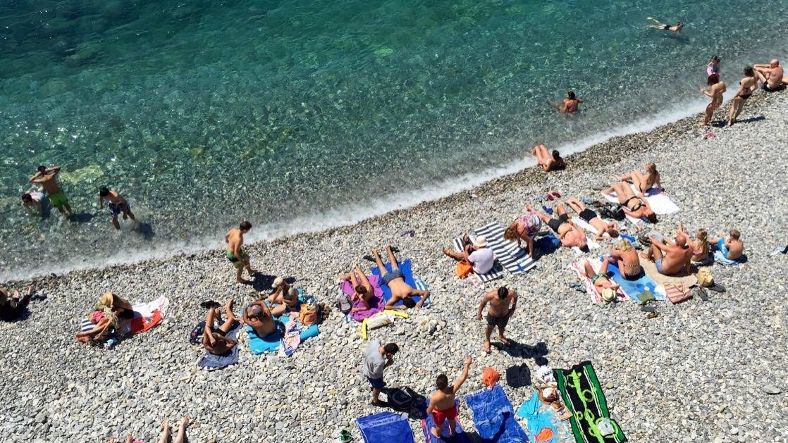 Plaża w Nicei