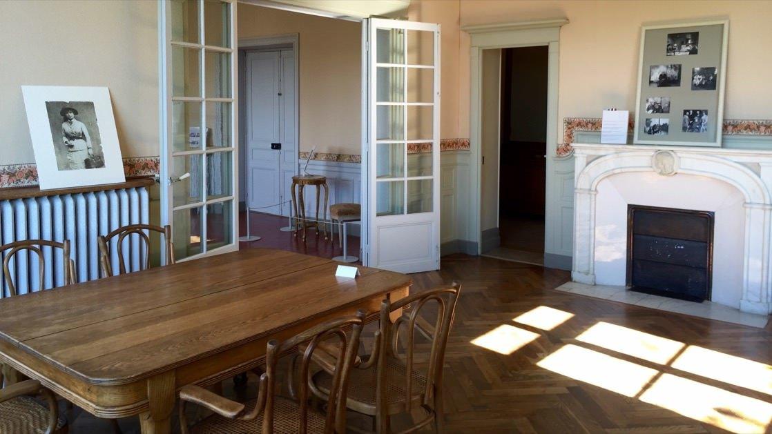 Jadalnia w muzeum Renoir, Cagnes-sur-Mer