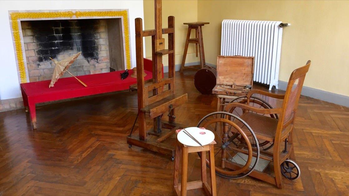 Pracownia Augusta Renoir w jego willi