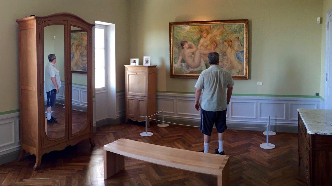 Pokój Augusta Renoir w jego willi w Cagnes-sur-Mer
