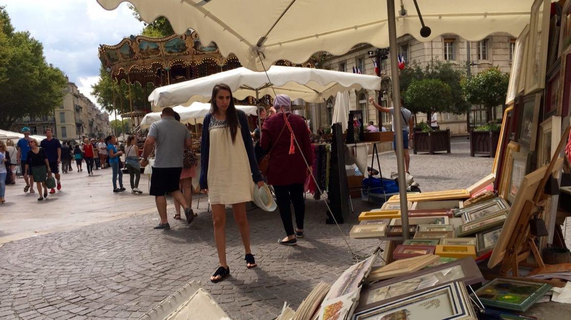 Plac w Awinion (Avignon)