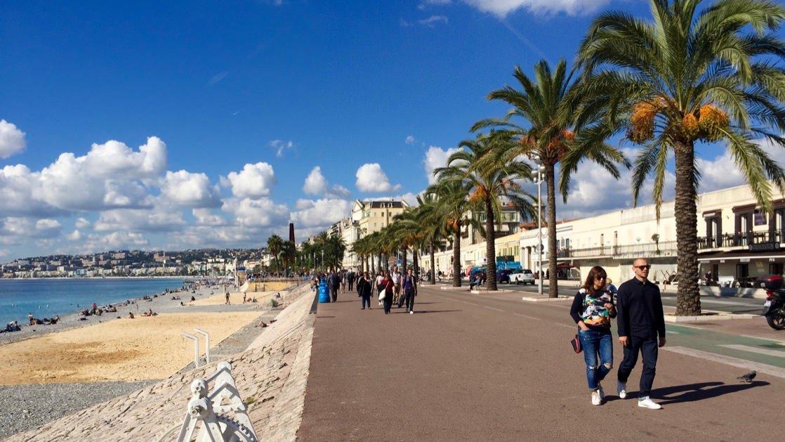 Promenada Anglików, Nicea