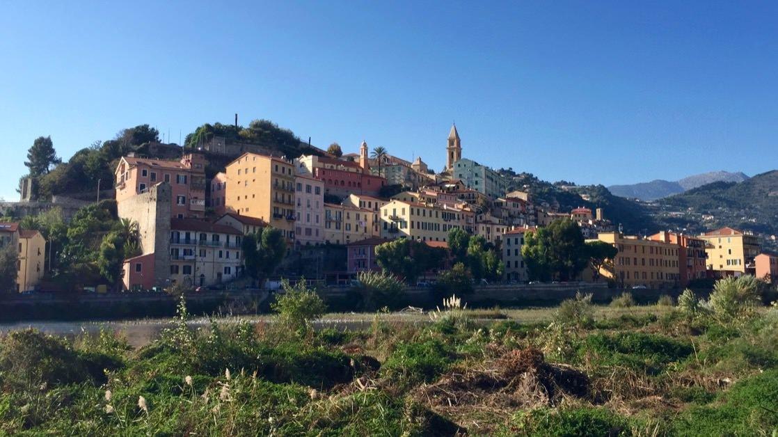 Ventimiglia Alta - średniowieczne miasto