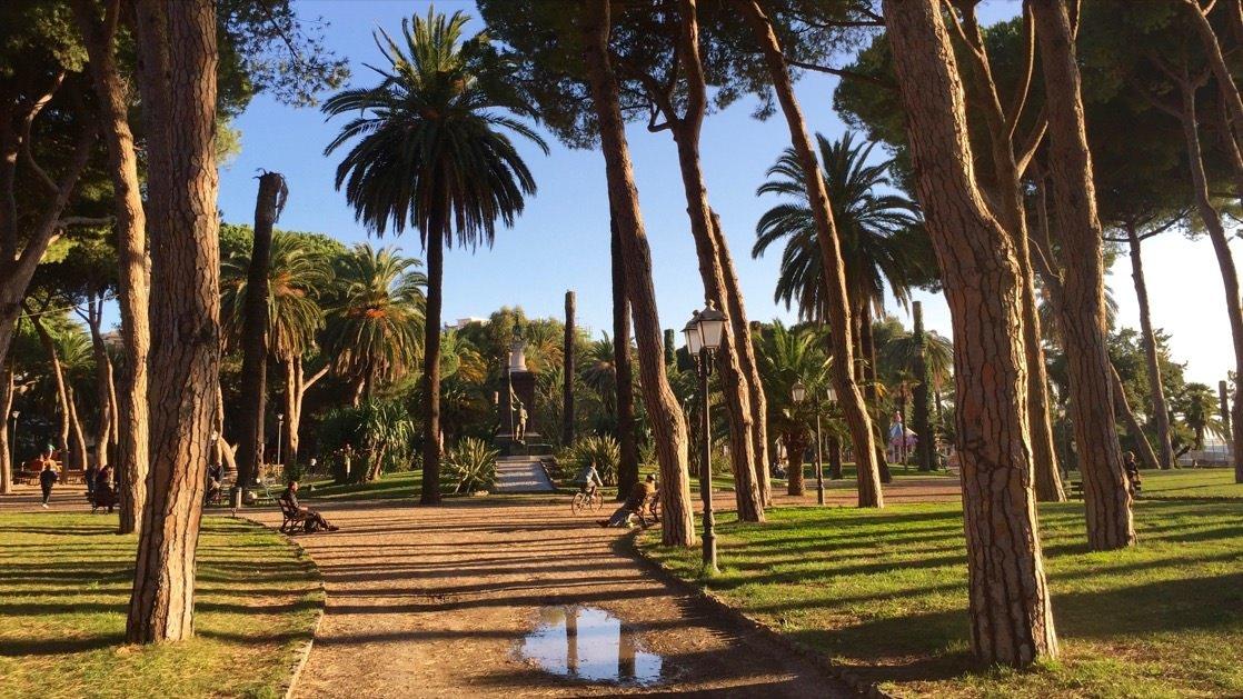Ventimiglia, park miejski