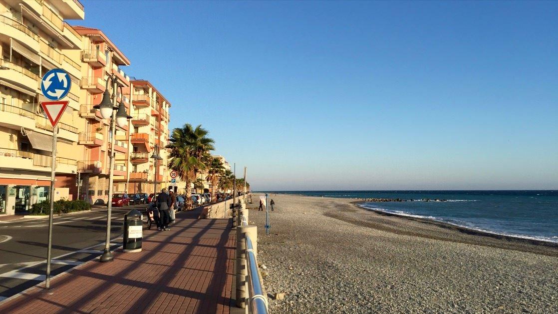 Plaża w Ventimiglia