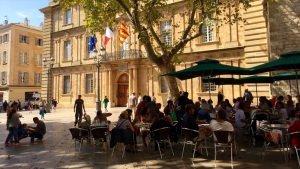 Budynek ratusza w Aix-en-Provence