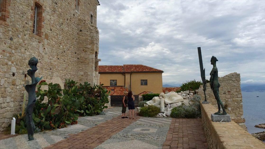 Muzeum Picassa w Antibes, Lazurowe Wybrzeże