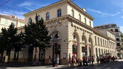 Oddział banku Societe Generale w Nicei, który okradli złodzieje w 1976 r.
