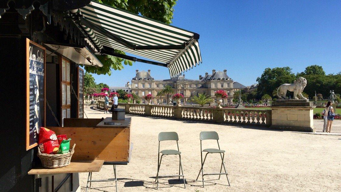 Ogród Luksemburski w Paryżu