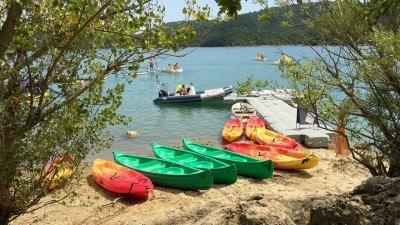 Jezioro Saint-Cassien, Prowansja, Lazurowe Wybrzeże