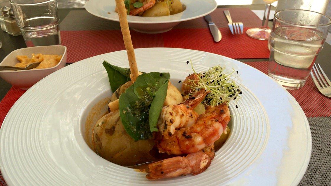 Zupa Bouillabaisse w wersji tulońskiej, z ziemniakami