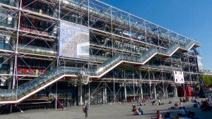 Centrum Pompidou w Paryżu, foto: pixabay.com