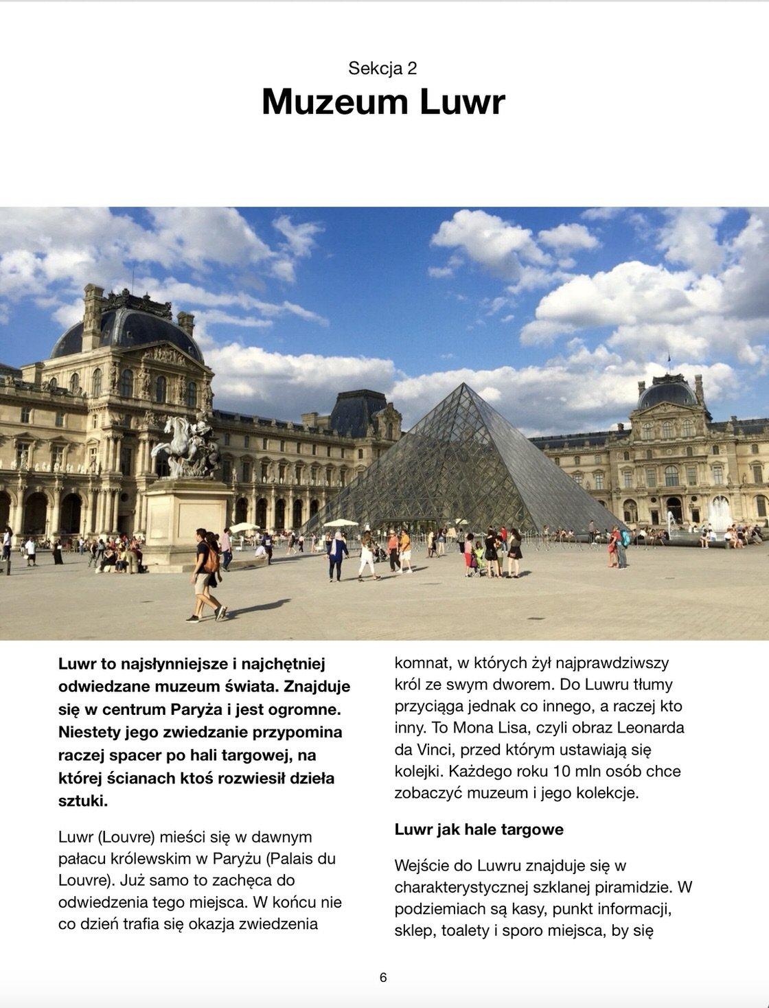 Przewodnik po Paryżu - ebook na iPad, iPhone oraz w PDF na dowolne urządzenie i do wydruku