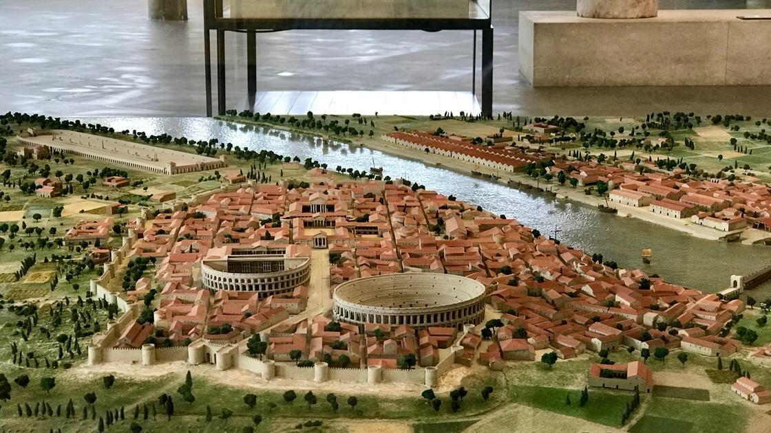 Makieta starożytnego Arles, Muzeum Archeologiczne