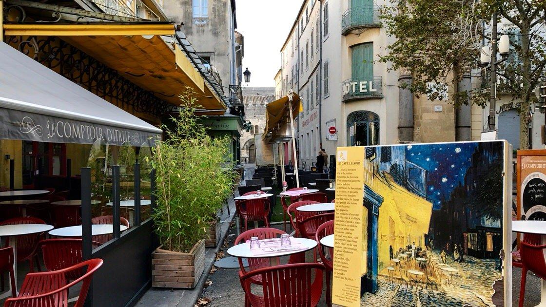 Kawiarnia w Arles uwieczniona na słynnym obrazie van Gogha