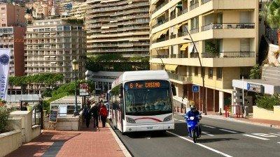 Zwiedzanie Monako pojazdem: autobusem i samochodem