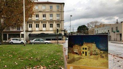 Tu stał Żółty Dom, w którym mieszkał van Gogh