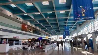 Terminal lotniska w Marsylii.
