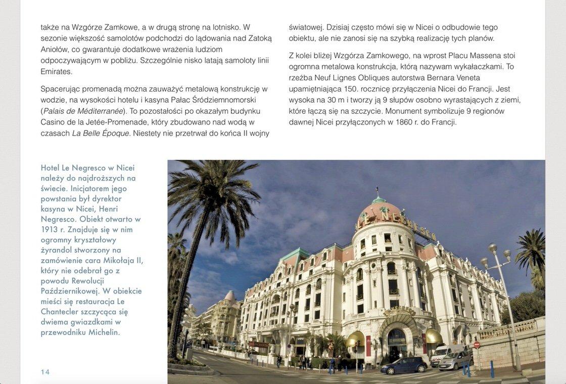 Przewodnik po Nicei, ebook w PDF i na iPad