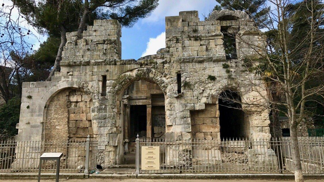 Temple de Diane, Nimes