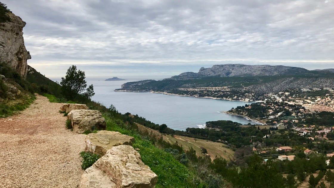 Cap Canaille, wjazd od strony Cassis