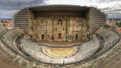 Teatr antyczny w Orange, Prowansja