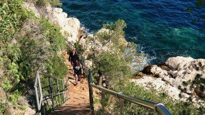 Nadmorska wędrówka z Nicei do Villefranche, Lazurowe Wybrzeże