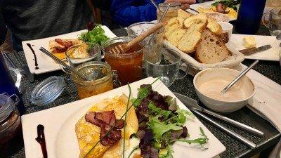 Francuskie śniadanie w La Femme du Boulanger