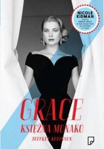 Okładka książki Grace Księżna Monako. Źródło: lubimyczytac.pl